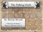 the talking cloth1