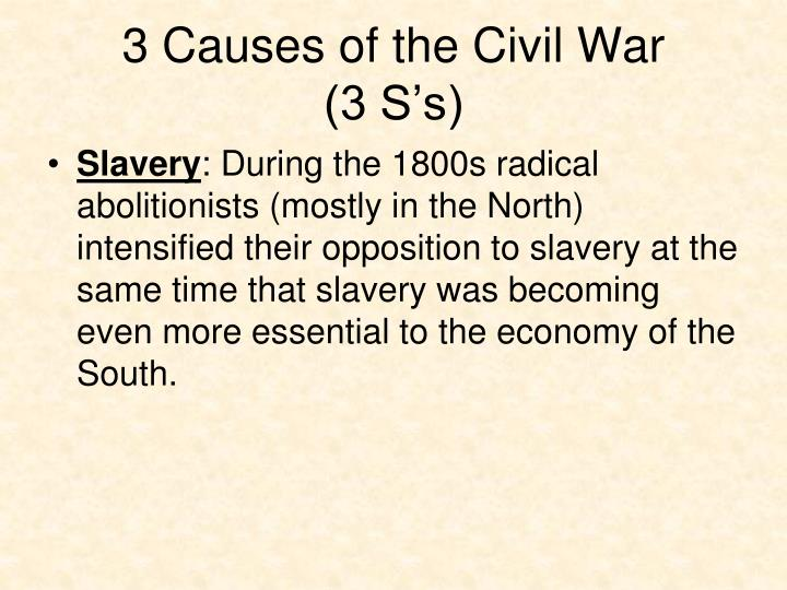 the events that lead to the civil war It is no great leap to claim that the creation of the republican party, a truly sectional party in its first years, was the crucial link in the chain of events leading to the civil war the success of the party was a direct outcome of the electoral college.