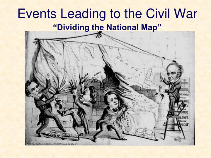events leading to the civil war n.