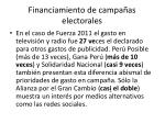 financiamiento de campa as electorales7