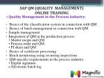 sap qm quality management online training5