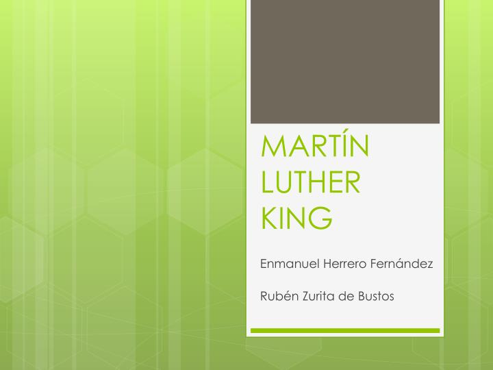 mart n luther king n.