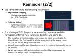 reminder 2 2