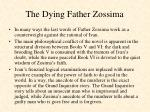 the dying father zossima