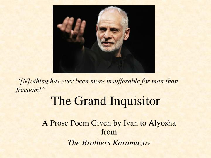 the grand inquisitor n.