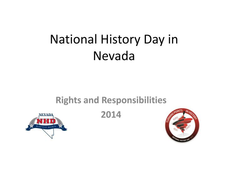 national history day in nevada n.