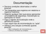 documenta o