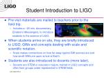student introduction to ligo