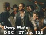 deep water d c 127 and 128