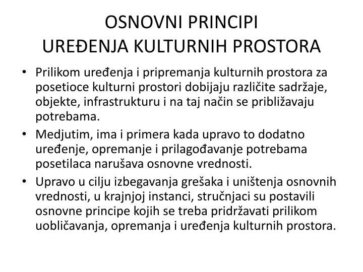 OSNOVNI PRINCIPI