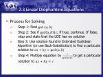 2 3 linear diophantine equations2