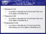 3 2 tests for divisibility