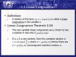 3 5 linear congruences
