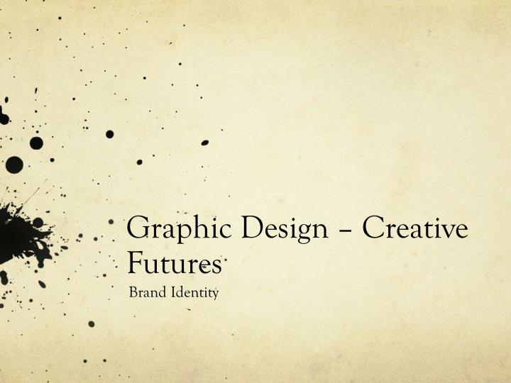 graphic design creative futures n.