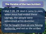 the parable of the two builders2