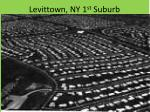 levittown ny 1 st suburb