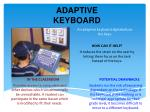 adaptive keyboard