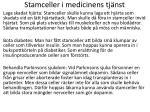 stamceller i medicinens tj nst