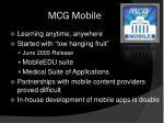 mcg mobile