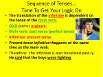 sequence of tenses time to get your logic on1