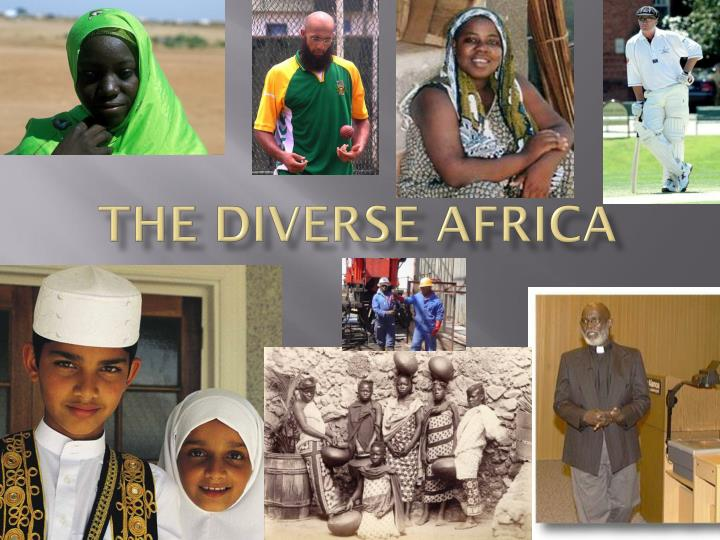 the diverse africa n.