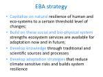 eba strategy