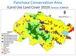 panchase conservation area land use land cover 2010 source icimod