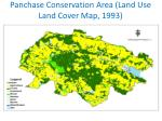 panchase conservation area land use land cover map 1993