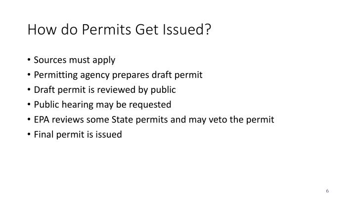 How do Permits Get Issued?