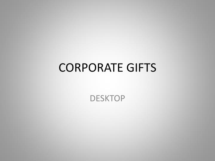 corporate gifts n.