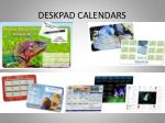 deskpad calendars