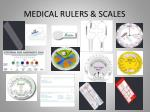 medical rulers scales