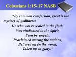 colossians 1 15 17 nasb