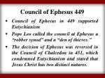 council of ephesus 449