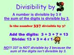 divisibility by2