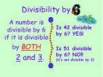 divisibility by4