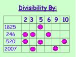 divisibility by7