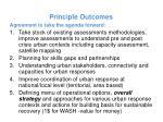 principle outcomes