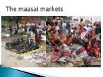 the maasai markets