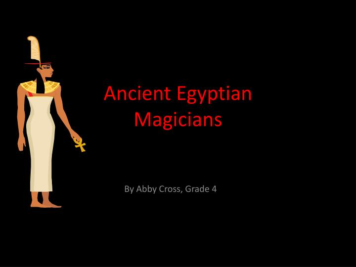 ancient egyptian magicians n.