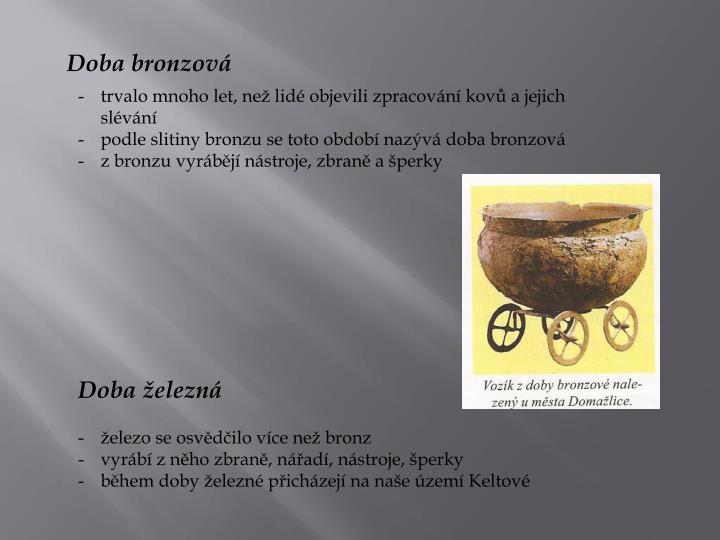 Doba bronzová