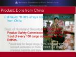 product dolls from china