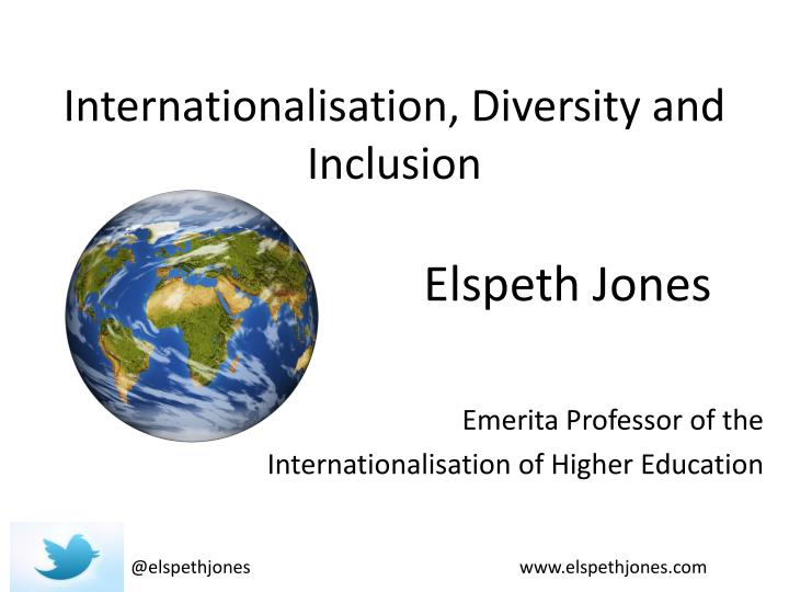 internationalisation diversity and inclusion n.