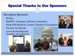 special thanks to our sponsors1