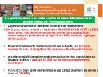 la participation la lutte contre la d sertification et la pr servation de l environnement