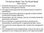 the german model two tier board model1