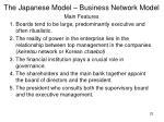 the japanese model business network model1