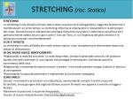 stretching risc statico