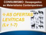 consumismo desapegados ao materialismo contempor neo23