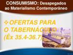 consumismo desapegados ao materialismo contempor neo24